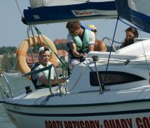 """Szkoleniowy obóz żeglarski stacjonarno-wędrowny """"Szlakiem Wielkich Jezior"""" - Ryn i Wielkie Jeziora Mazurskie"""